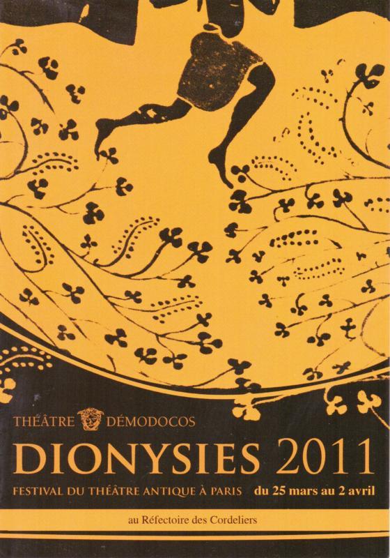 Flyer Dionysies 2011