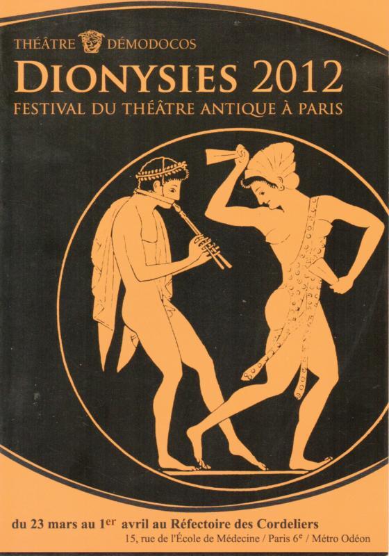 Flyer Dionysies 2012