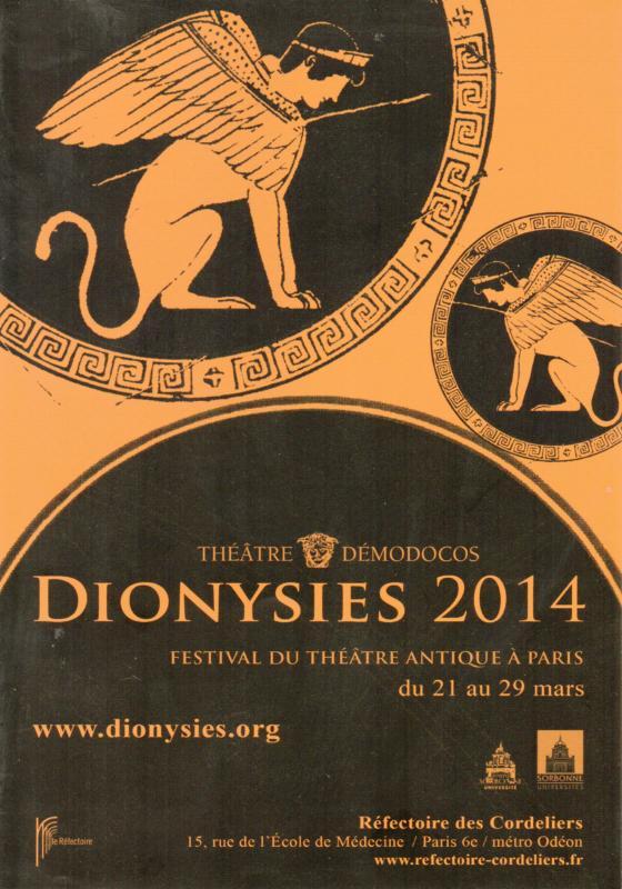Flyer Dionysies 2014